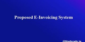 Proposed E-Invoicing System