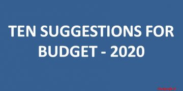 TEN SUGGESTIONS FOR BUDGET 2020