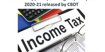 ITR Form Sahaj (ITR-1) and Sugam (ITR-4) for AY 2020-21 released