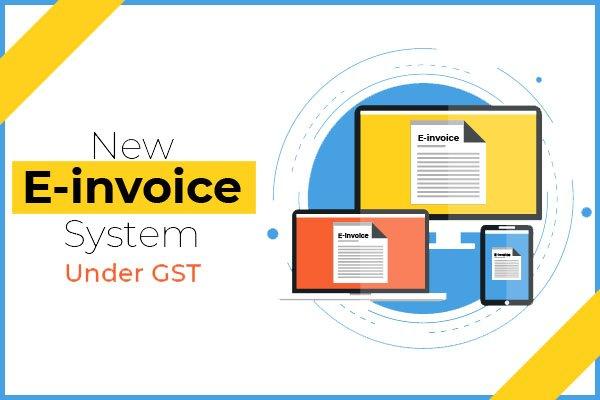 All about GST E-invoicing