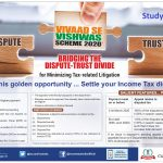VIVAAD SE VISHWAS SCHEME 2020 - INCOME TAX