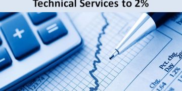 TDS on 194J for technical services reduced to 2% from 1st April 2020
