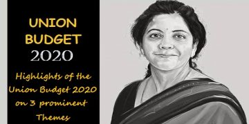 Highlights of the Union Budget 2020 on 3 prominent themes - Aspirational India, Economic Development and Direct tax proposal
