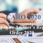 Salient Features of CARO 2020