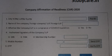 Filling of Form CAR by Companies & LLPs: Frequently Asked Questions