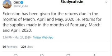 GSTR-3B due date extended for the month of Feb 2020