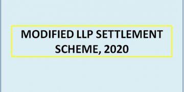 MODIFIED LLP SETTLEMENT SCHEME, 2020