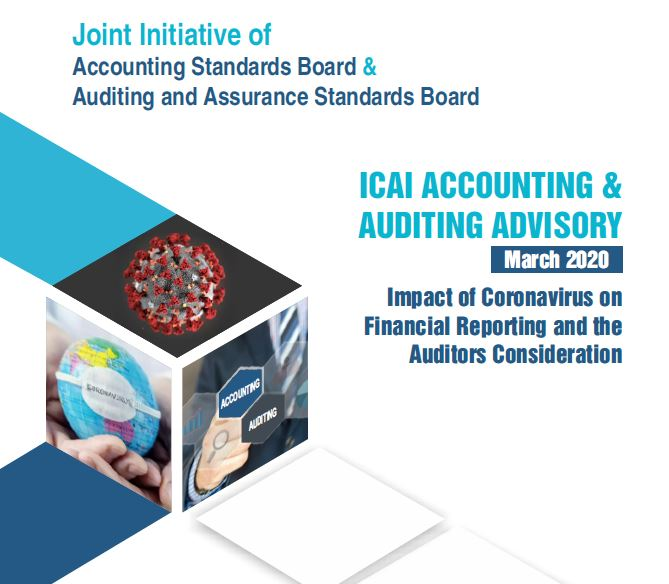 ICAI Advisory on Accounting and Assurance related issues for F.Y. 2019-20: Covid-19 Disruptions