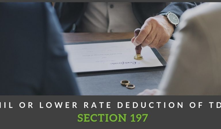 Order u/s 119 for issue of certificates for lower rate/nil deduction/collection of TDS or TCS