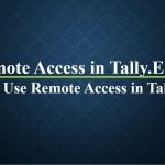 Remote Access in Tally.ERP9 | How to use Remote Access in Tally.ERP9