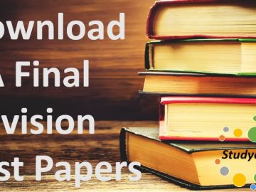 Download CA Final RTP May 2020 | CA Final Revision Test Papers