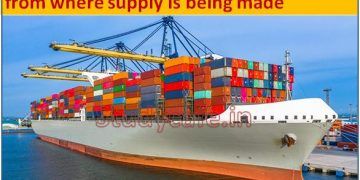 GST Registration required from the port from where supply is being made
