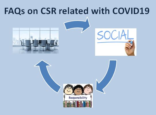 FAQs on CSR related with COVID19  Corporate social responsibility