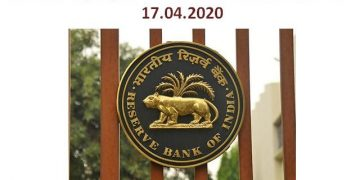 20 Key Highlights of RBI Press Conference dt. 17.04.2020