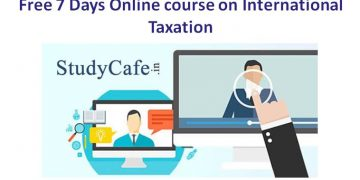 Free 7 Days Online course on International Taxation