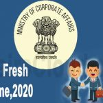 FAQ's on Company Fresh Start Scheme 2020 issued by the MCA