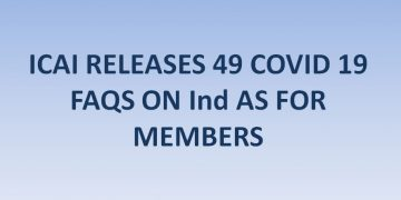 ICAI RELEASES 49 COVID 19 FAQS ON Ind AS FOR MEMBERS