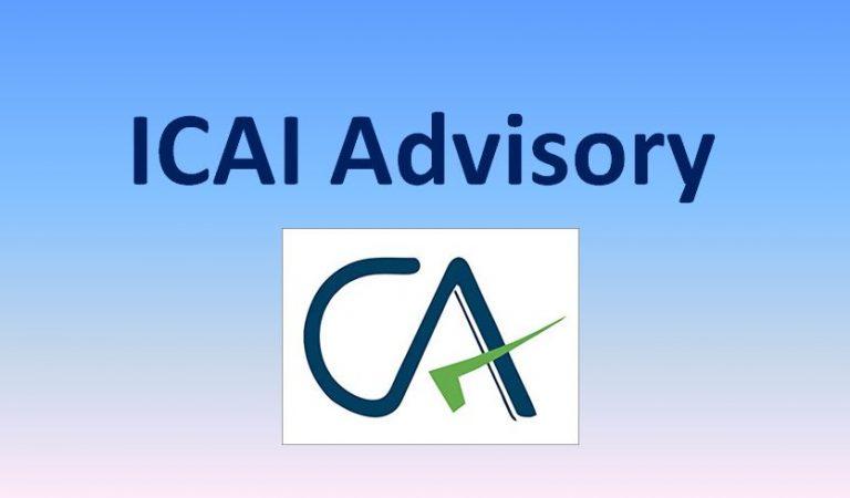 ICAI Advisory – Physical Inventory Verification & Key Audit Considerations amid COVID-19