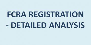 FCRA REGISTRATION - DETAILED ANALYSIS
