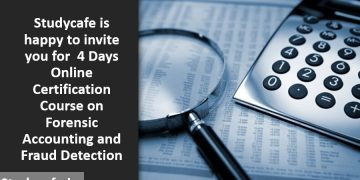 Forensic Accounting and Fraud Detection 4 Days Online Certification Course