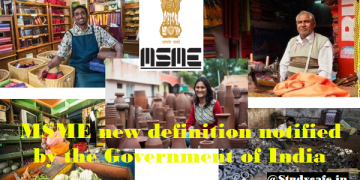 MSME New Definition Applicable w.e.f 01st July 2020 Notified by MSMED