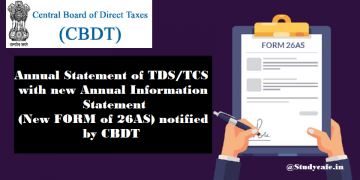 Annual Statement of TDS/TCS with new Annual Information Statement