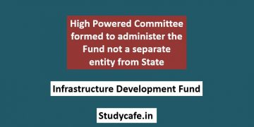High Powered Committee formed to administer the Fund not a separate entity from State