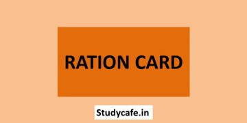 Ration card of low economic strata no prove of Financial Status
