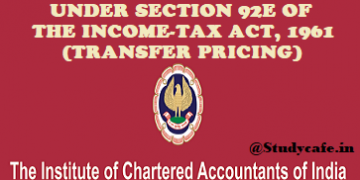ICAI releases revised Guidance Note on Transfer Pricing