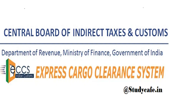 Auto Let Export Order under Express Cargo Clearance System allowed
