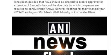 ROCs directed to approve the extension beyond the due date of conducting AGM
