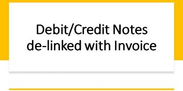 GSTR-1 New Feature | Debit Note/Credit Note Delinked from Invoice