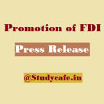 GOI introduces liberal and transparent policy for FDI
