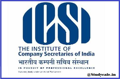 ICSI – Carry Forward of Examination Fees to June 2021 Exam session