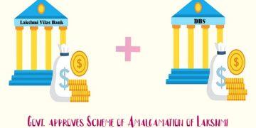 Govt. approves Scheme of Amalgamation of Lakshmi Vilas Bank with DBS Bank India Limited