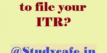 Do you have to file your ITR?