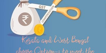 Kerala and West Bengal choose Option-1 to meet the GST implementation shortfall