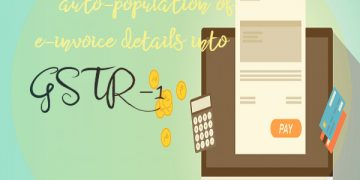 GSTN : Update on auto-population of e-invoice details into GSTR-1