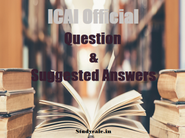 CA Final November 2020 Suggested Answers with Question Papers
