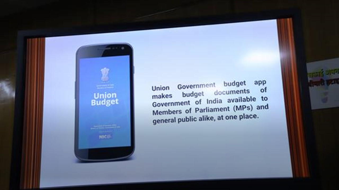 Download Union Budget Mobile App to provide easy and quick access to Union Budget