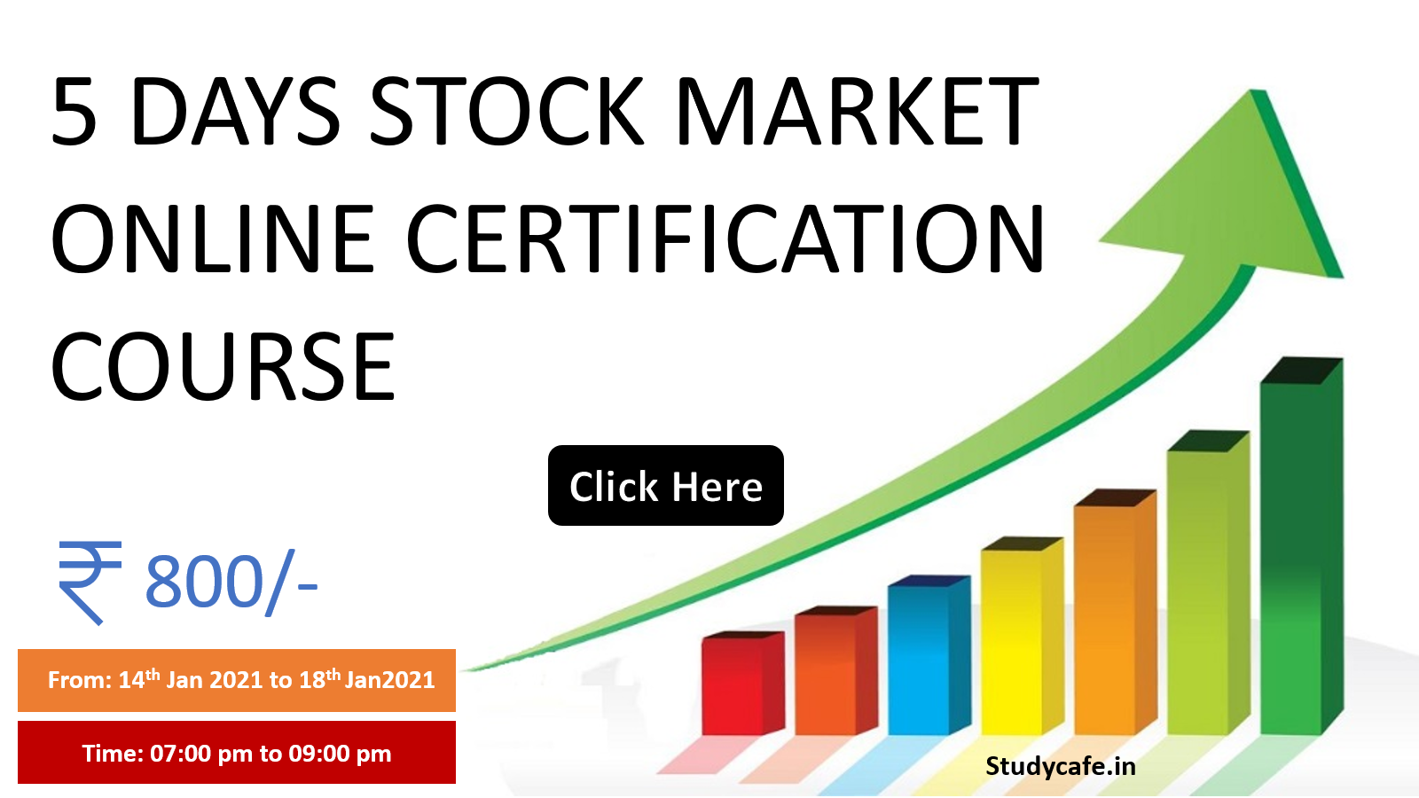Join 5 Days Online Stock Market Certification Course