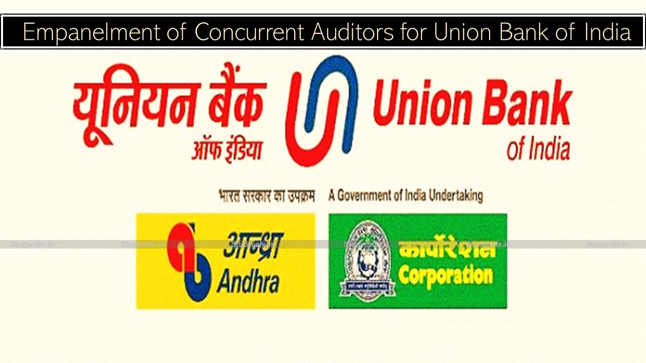 Empanelment of Concurrent Auditors for Union Bank of India