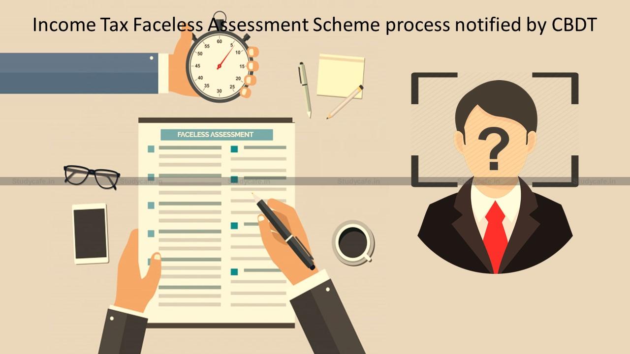 CBDT notifies Revised Procedure for Faceless Assessment Scheme