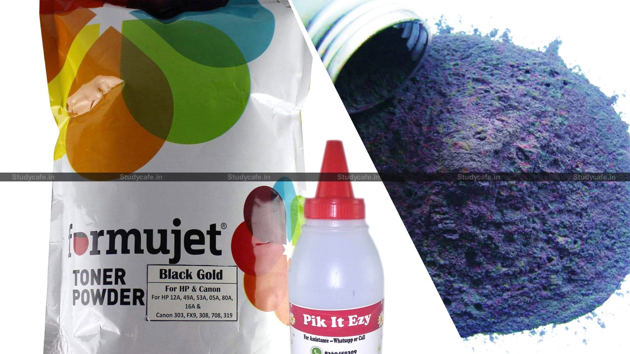 CBIC impose anti-dumping duty on imports of 'Black Toner in powder form'