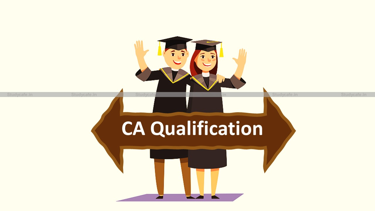 CA Qualification considered Equivalent to Master's Degree: ICAI