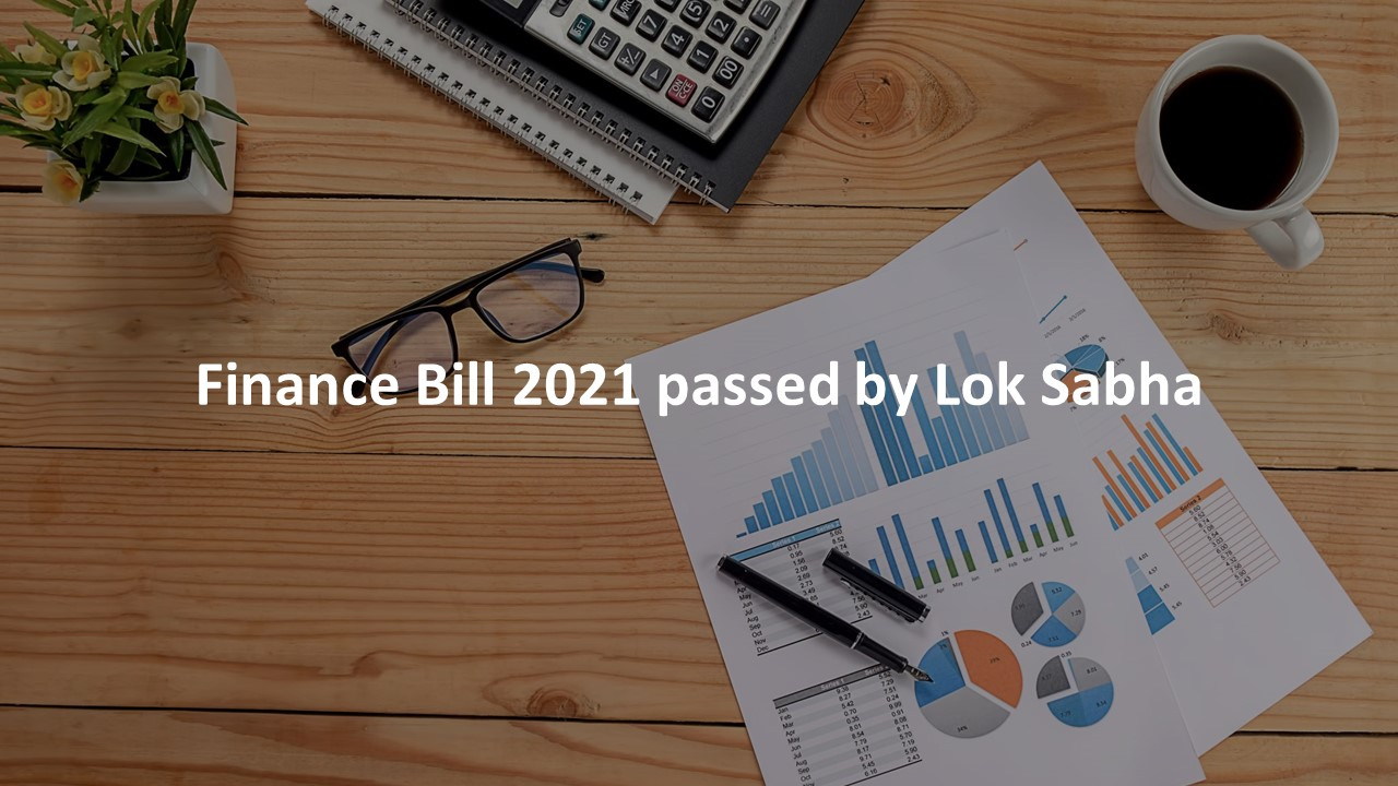 Finance Bill 2021 passed by Lok Sabha