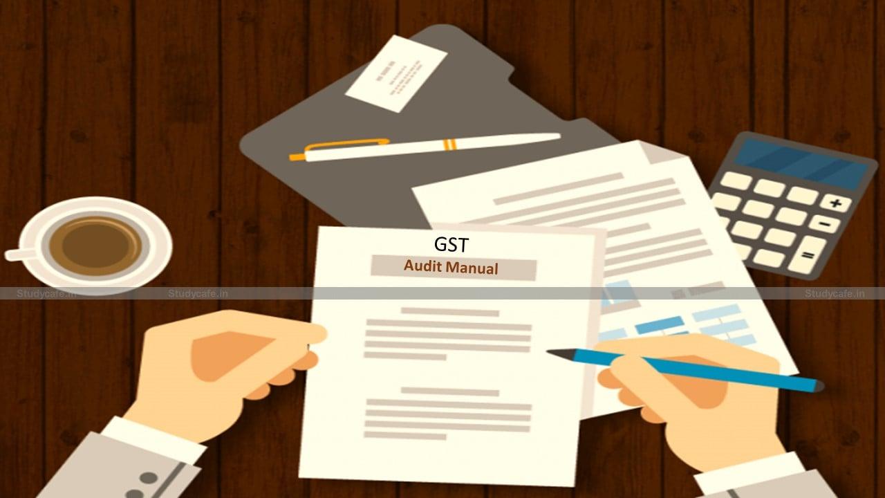 Karnataka Government released GST Audit Manual