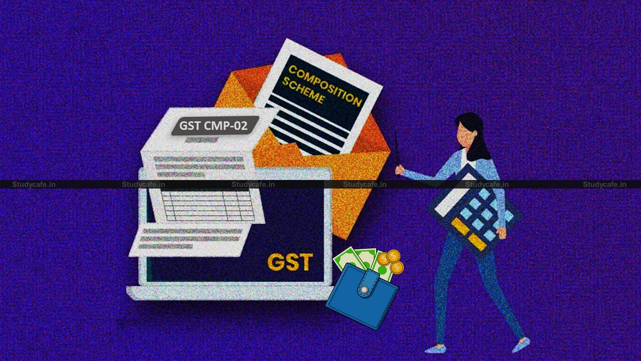 GST : Advisory on Opting-in for Composition Scheme for Financial year 2021-22