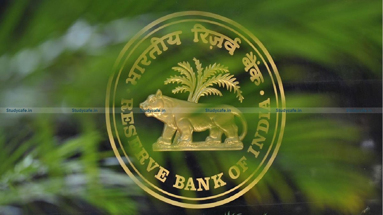 RBI issues modify Data Format for Furnishing of Credit Information to Credit Information Companies