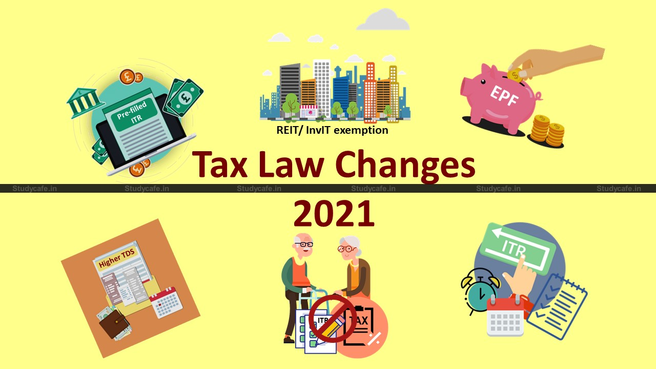 Top 10 Key Aspects of Tax Law Changes 2021